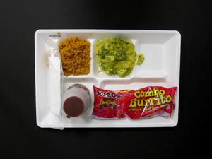 Primary view of object titled 'Student Lunch Tray: 02_20110329_02C5916'.