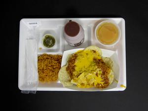 Primary view of object titled 'Student Lunch Tray: 02_20110329_02C5918'.