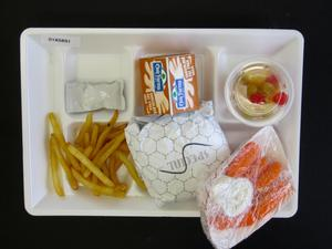 Primary view of object titled 'Student Lunch Tray: 01_20110330_01A5891'.