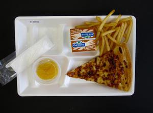 Primary view of object titled 'Student Lunch Tray: 01_20110330_01A5920'.