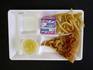 Primary view of object titled 'Student Lunch Tray: 01_20110330_01A5921'.
