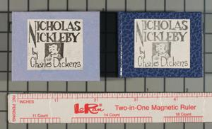 Primary view of object titled 'Nicholas Nickleby'.