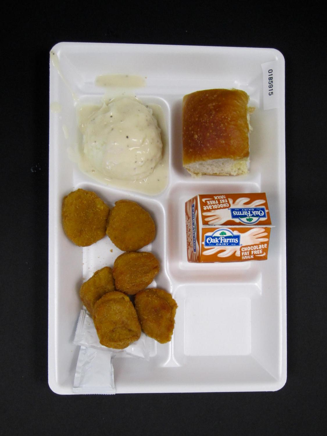 Student Lunch Tray: 01_20110330_01B5915                                                                                                      [Sequence #]: 1 of 2