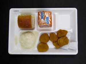 Primary view of object titled 'Student Lunch Tray: 01_20110330_01B5915'.