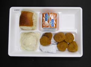 Primary view of object titled 'Student Lunch Tray: 01_20110330_01B5921'.