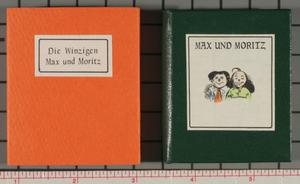 Max und Moritz: their first, second, and final tricks.