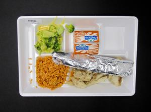 Primary view of object titled 'Student Lunch Tray: 01_20110330_01C5901'.