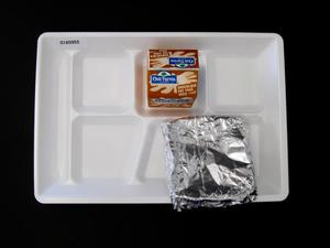 Primary view of object titled 'Student Lunch Tray: 01_20110401_01A5955'.
