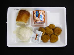 Primary view of object titled 'Student Lunch Tray: 01_20110401_01B5937'.