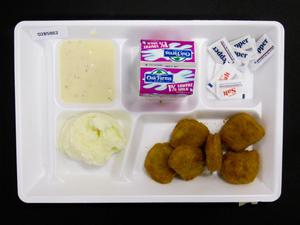 Primary view of object titled 'Student Lunch Tray: 02_20110411_02B5862'.