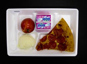 Primary view of object titled 'Student Lunch Tray: 02_20110411_02B5942'.