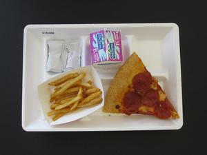 Primary view of object titled 'Student Lunch Tray: 01_20110413_01A5988'.