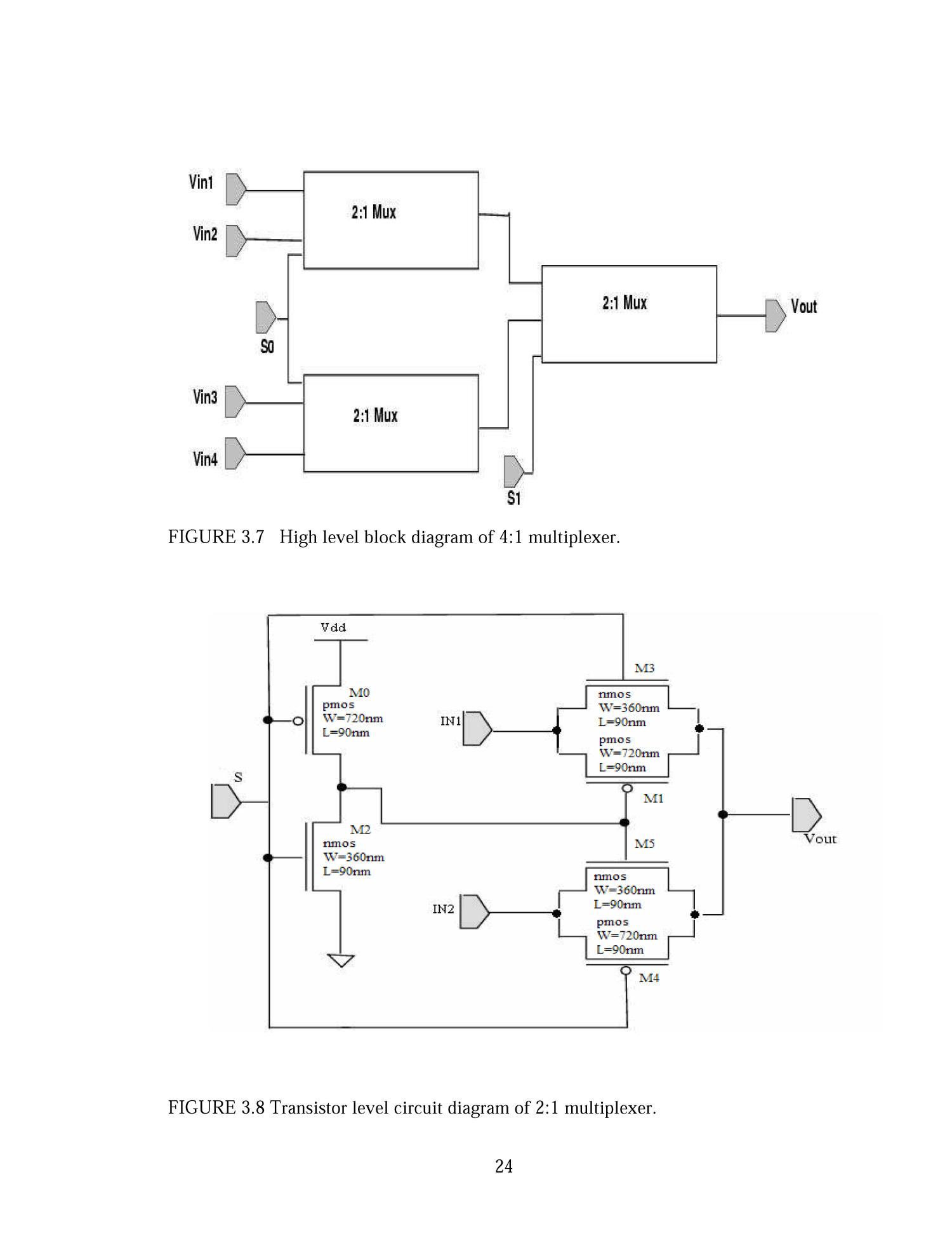 A Nano Cmos Based Universal Voltage Level Converter For Multi Vdd 2 1 Mux Logic Diagram Extracted Text