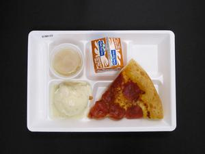 Primary view of object titled 'Student Lunch Tray: 01_20110413_01B6137'.