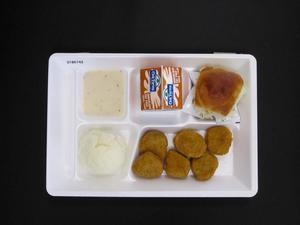 Primary view of object titled 'Student Lunch Tray: 01_20110413_01B6143'.
