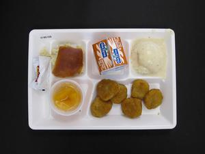 Primary view of object titled 'Student Lunch Tray: 01_20110413_01B6168'.