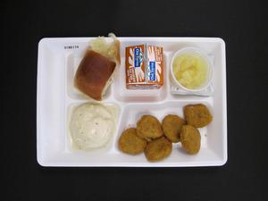 Primary view of object titled 'Student Lunch Tray: 01_20110413_01B6174'.