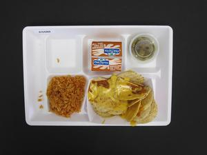 Primary view of object titled 'Student Lunch Tray: 01_20110413_01C4269'.