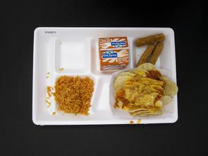 Primary view of object titled 'Student Lunch Tray: 01_20110413_01C4271'.