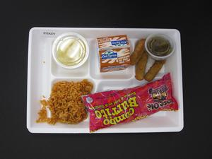 Primary view of object titled 'Student Lunch Tray: 01_20110413_01C4277'.