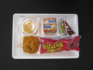 Primary view of object titled 'Student Lunch Tray: 01_20110413_01C4278'.