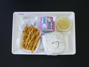 Primary view of object titled 'Student Lunch Tray: 01_20110415_01A6152'.