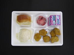 Primary view of object titled 'Student Lunch Tray: 01_20110415_01B5820'.