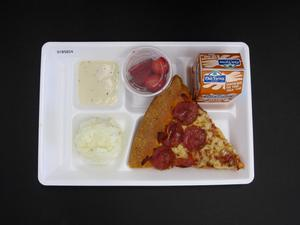 Primary view of object titled 'Student Lunch Tray: 01_20110415_01B5824'.