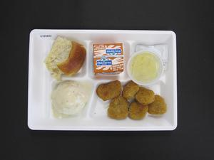 Primary view of object titled 'Student Lunch Tray: 01_20110415_01B5832'.