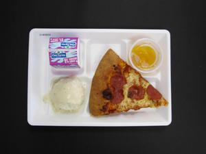 Primary view of object titled 'Student Lunch Tray: 01_20110415_01B5833'.
