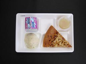 Primary view of object titled 'Student Lunch Tray: 01_20110415_01B5849'.