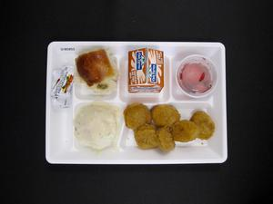 Primary view of object titled 'Student Lunch Tray: 01_20110415_01B5853'.
