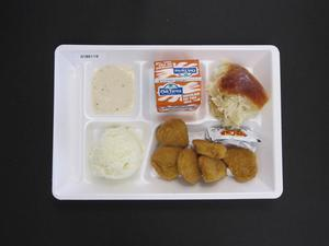 Primary view of object titled 'Student Lunch Tray: 01_20110415_01B6119'.