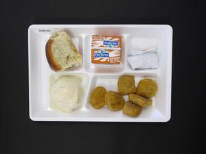 Primary view of object titled 'Student Lunch Tray: 01_20110415_01B6125'.