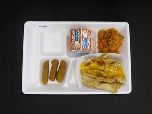 Primary view of object titled 'Student Lunch Tray: 01_20110415_01C5856'.