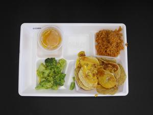 Primary view of object titled 'Student Lunch Tray: 01_20110415_01C5864'.