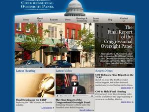 Congressional Oversight Panel
