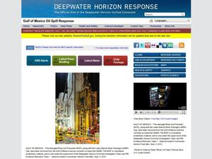 Primary view of object titled 'Deepwater Horizon Response: Gulf of Mexico Oil Spill Response'.