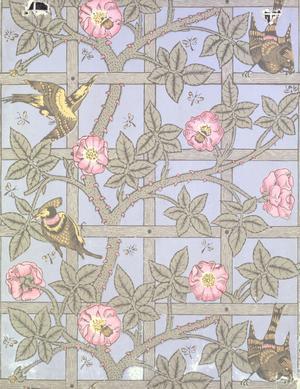 Trellis (wallpaper design)