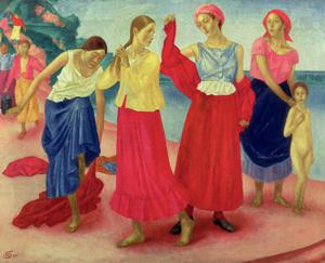 Young Women on the Volga