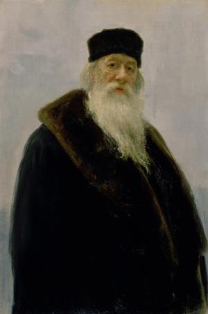 Portrait of Vladimir Vasil'evich Stasov (1824-1906)