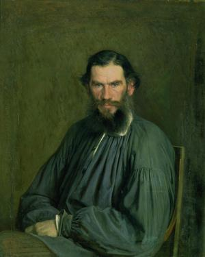 Primary view of Portrait of Count Lev Nikolaevich Tolstoy (1828-1910)