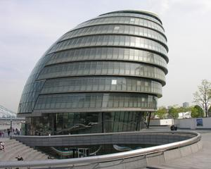 Primary view of object titled 'City Hall, London'.