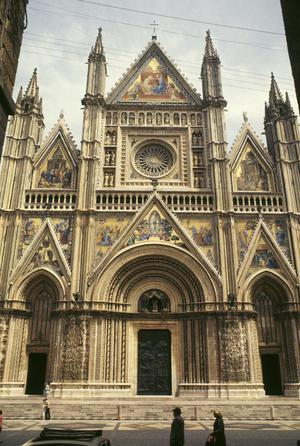 Primary view of object titled 'Orvieto Cathedral, Orvieto, Italy'.