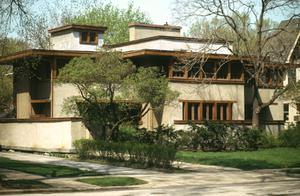 Primary view of Balch House, Oak Park, Illinois, United States