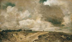 Primary view of object titled 'Road to the Spaniards, Hampstead'.
