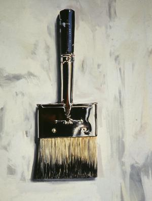 Primary view of object titled 'Three Inch Wide Brush'.
