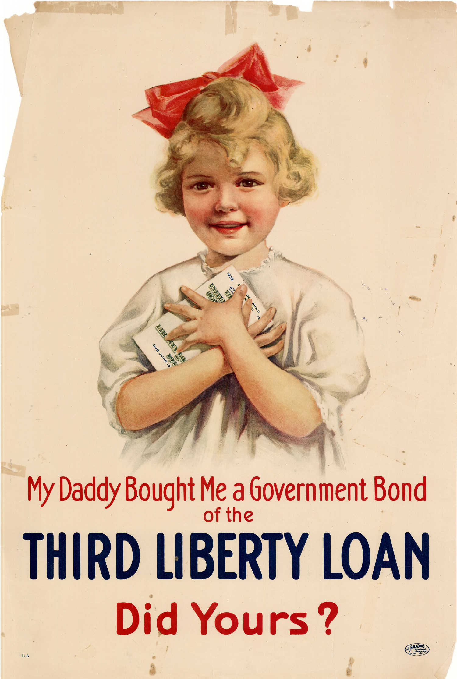 My Daddy Bought Me A Government Bond Of The Third Liberty