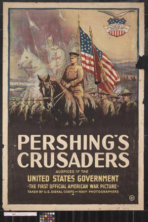 Primary view of object titled 'Pershing's crusaders.'.