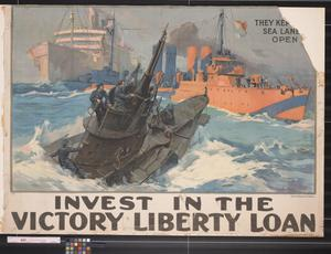 Invest in the Victory Liberty Loan.